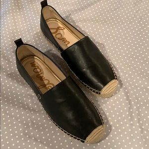 Sam Edelman black espadrilles size 6.5